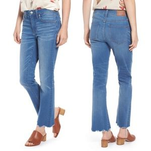 "Madewell Cali Demi Boot Jeans 27"" Inseam"